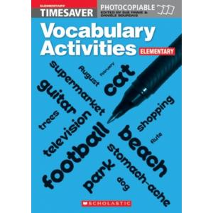 Timesaver: Vocabulary Activities Elementary