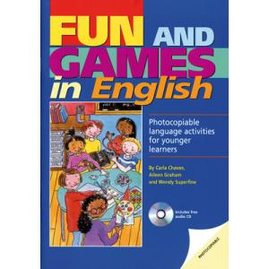 Fun and Games in English+Audio CD