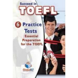 Succeed in TOEFL. CD do Podręcznika