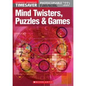 Timesaver: Mind Twisters, Puzzles and Games