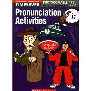 Timesaver: Pronunciation Activities Elementary-Intermediate + CD