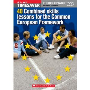 Timesaver: 40 Combined Skills Lessons for the CEF + CD