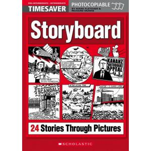 Timesaver: Storyboard. 24 Interactive Stories Through Pictures + CD