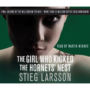 The Girl Who Kicked the Hornets' Nest. Audiobook