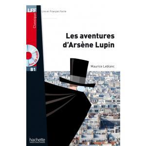 LFF Les Aventures d'Arsen Lupin + CD mp3 (B1)