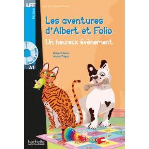LFF Albert et Folio: Un heureux evenement+CD mp3 (A1)