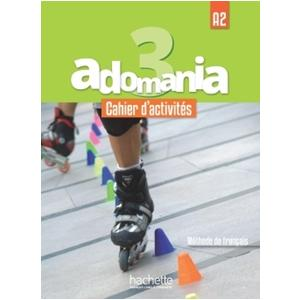 Adomania 3. Ćwiczenia + CD + Parcours Digital