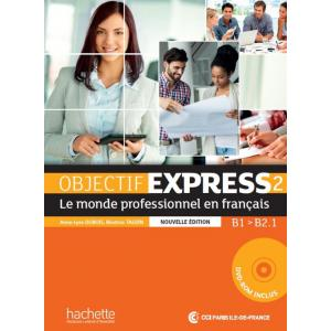 Objectif Express 2 Nouvelle Ed. podręcznik +DVD-Rom