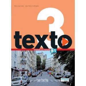 Texto 3 podręcznik + DVD-Rom + kod /PACK/