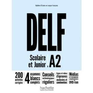 DELF A2 Scolaire et Junior. Podręcznik + DVD-ROM