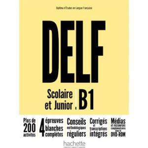 DELF B1 Scolaire et Junior. Podręcznik + DVD-ROM