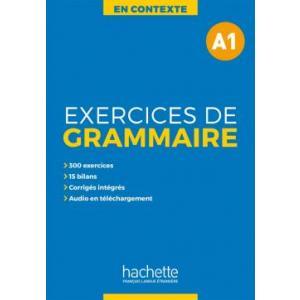 En Contexte: Exercices de grammaire A1 - podręcznik + klucz odp.
