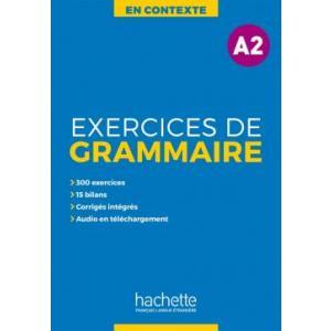 En Contexte: Exercices de grammaire A2 - podręcznik + klucz odp.