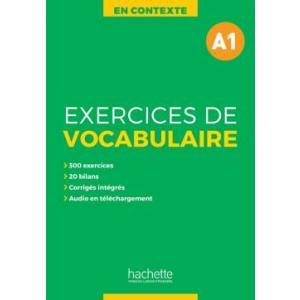 En Contexte: Exercices de Vocabulaire A1. Podręcznik z Kluczem + MP3