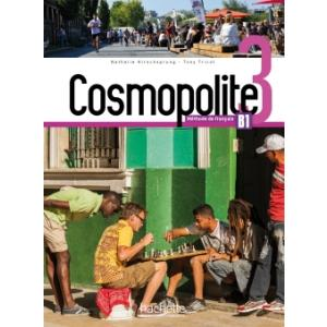 Cosmopolite 3. Podręcznik + DVD + Parcours Digital