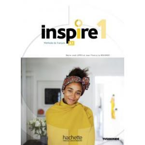 Inspire 1. Podręcznik + DVD + Parcours Digital