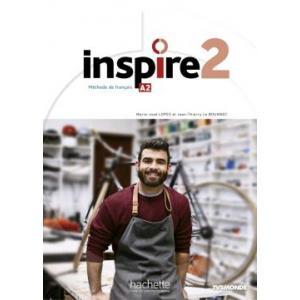 Inspire 2. Podręcznik + DVD + Parcours Digital