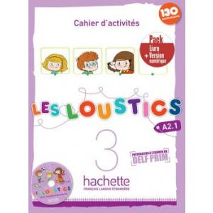 Les Loustics 3 ćwiczenia +CD +ćwiczenia online /PACK/