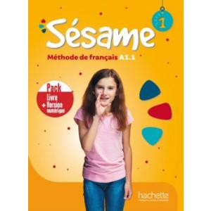 Sesame 1. Podręcznik + Podręcznik Online /PACK/