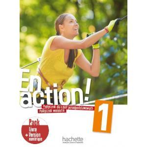 En Action 1. Podręcznik Wieloletni + Kod (podręcznik online) + Audio Online
