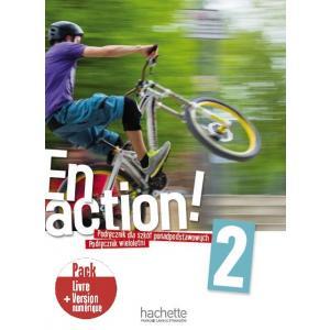 En Action 2. Podręcznik Wieloletni + Kod (podręcznik online) + Audio Online