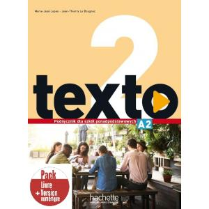 Texto 2. Podręcznik wieloletni + Kod (podręcznik online) + Audio Online