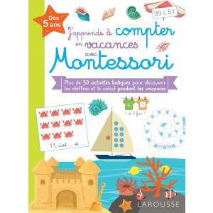 J'apprends a compter en vacances avec Montessori