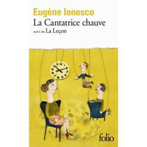 LF Ionesco, La Cantratrice chauve