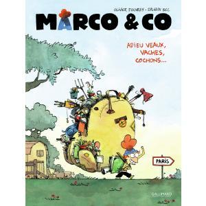 Marco and CO Adieu veaux, vaches, cochons /komiks/