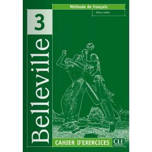 Belleville 3 ćwiczenia + Audio CD