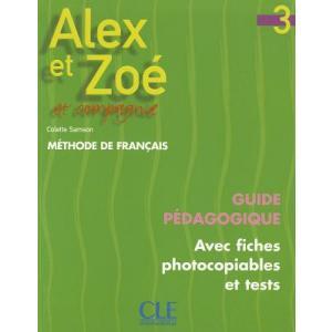Alex et Zoe 3 przewodnik metodyczny