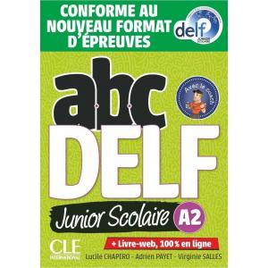 ABC DELF A2 junior scolaire książka + DVD + zawartość online Nowa formuła 2021