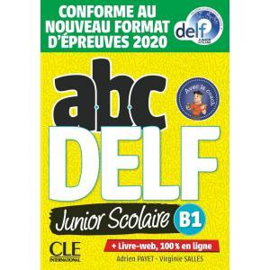 ABC DELF B1 junior scolaire książka + DVD + zawartość online Nowa formuła 2021
