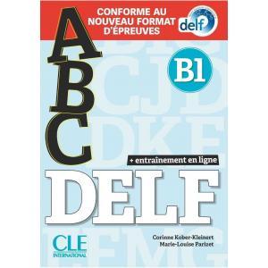 ABC DELF B1 książka + CD MP3 + kluczem + zawartość online Nowa formuła 2021