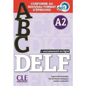 ABC DELF A2 książąka + MP3 Nowa formuła 2021