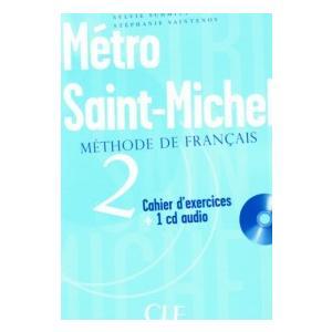 Metro Saint-Michel 2. Ćwiczenia + CD