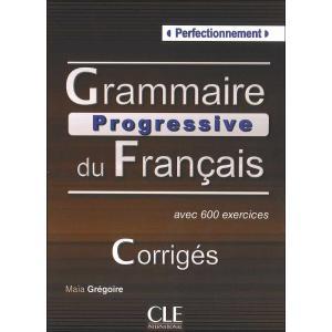 Grammaire progressive du Francais Perfectionnement. Klucz