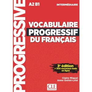 Vocabulaire Progressif du Francais Intermediaire. 3e Edition. Książka + CD