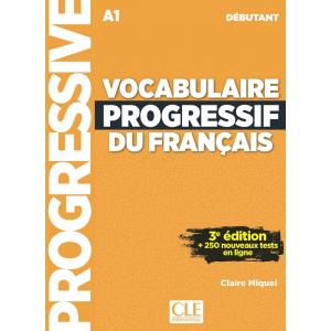 Vocabulaire Progressif du Francais Debutant. 3e Edition. Książka + CD