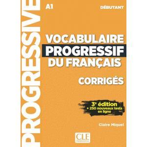 Vocabulaire Progressif du Francais Debutant. 3e Edition. Klucz Odpowiedzi