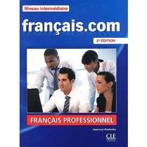 Francais.com Intermediaire. Podręcznik + CD