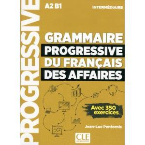 Grammaire Progressive du Francais des Affaires. Intermediaire. Podręcznik + MP3