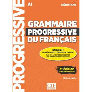 Grammaire Progressive Du Francais Debutant 3 Edition. Podręcznik + CD