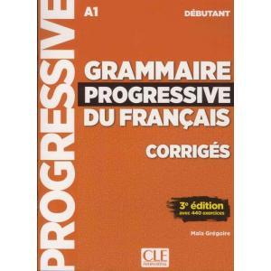 Grammaire Progressive Du Francais Debutant 3 Edition. Klucz