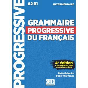Grammaire Progressive du Francais Intermediarie. 4e Edition. Książka + CD