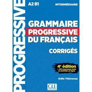 Grammaire Progressive du Francais Intermediarie. 4e Edition. Klucz Odpowiedzi