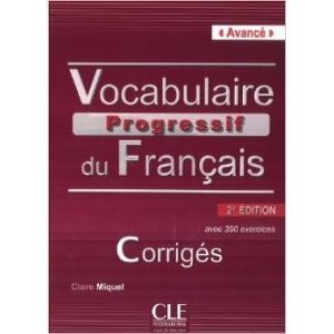 Vocabulaire Progressif du Francais Avance. Klucz Odpowiedzi