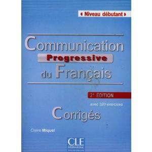 Communication Progressive Debutant corriges 2ed
