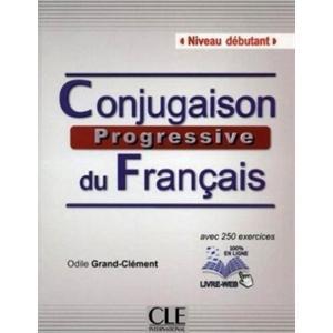 Conjugaison Progressive du Francais Debutant. Podręcznik z Kluczem + CD