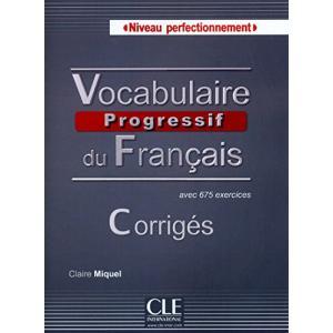 Vocabulaire Progressif du Francais Perfectionnement. Klucz